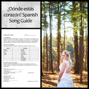 ¿Dónde Estás Corazón? Shakira Song Guide and Questions in Spanish