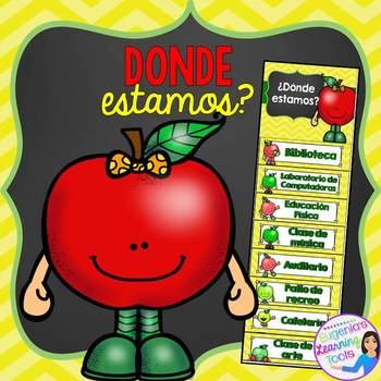 Classroom Management - Donde estamos? (Spanish version)