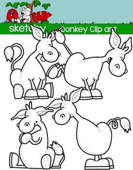 Donkey Clipart / Graphics