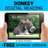 Donkey Reading Comprehension for Google Classroom