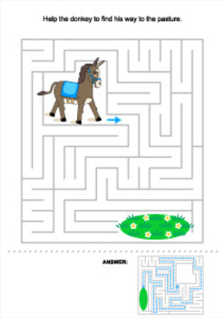 Donkey Maze, Commercial Use Allowed