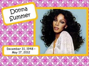 Donna Summer: Musician in the Spotlight