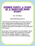 Donner Party Book Study