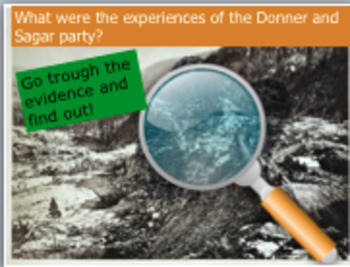 Donner Party and Sagar Party: what were their experiences of moving westward?
