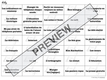 Donner son avis/OPINION expression indicatif subjonctif