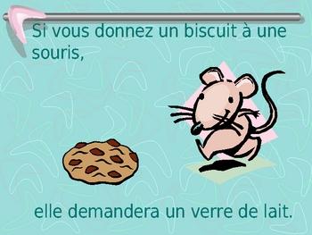 Donnez un biscuit à une souris - powerpoint
