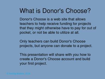 Donor's Choose Cheat Sheet
