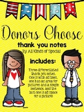 Donors Choose Thank You Packet