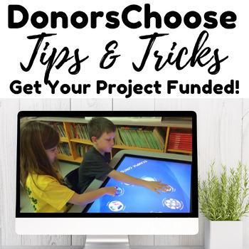 DonorsChoose Help!