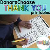 DonorsChoose Thank You Notes BUNDLE