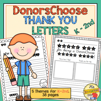 Thank You Letter Template Worksheets Teaching Resources Tpt