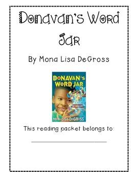 Donovan's Word Jar Packet