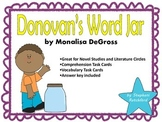 Donovan's Word Jar by Monalisa DeGross Comprehension and V