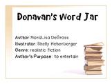 Donavan's Word Jar Power Point