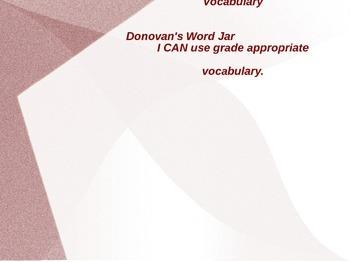 Donovan's Word Jar Vocabulary PPT