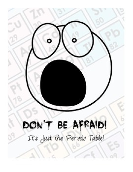 Don't Be Afraid! It's Just the Periodic Table!