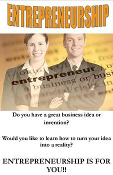 Don't Be Boring: Entrepreneurship Student Recruitment Brochure/Kim Anderson