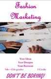Don't Be Boring: Fashion Marketing Student Recruitment Brochure