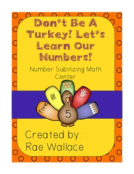Don't Be a Turkey! Number Sense Math Center