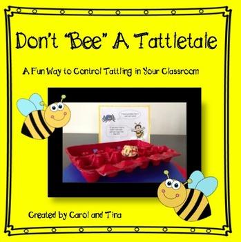 """Don't """"Bee"""" a Tattletale"""