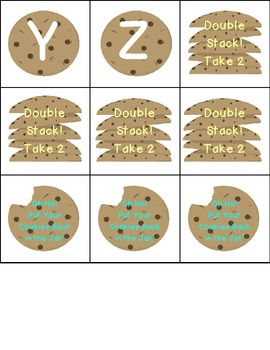 Don't Bite the Cookie! A Beginning (Or Ending) Letter Sounds Game