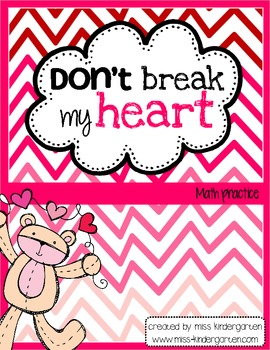 Don't Break My Heart {Math Practice}