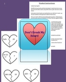 Don't Break My Heart Valentine Math Game