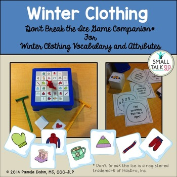 Don't Break the Ice Game Companion: Winter Clothing Set