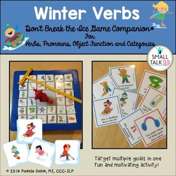 Don't Break the Ice Game Companion: Winter Verbs