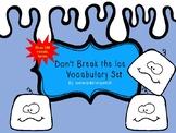 Dont Break the Ice Vocabulary Set