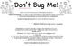 Don't Bug Me: Homophones Game