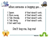 Don't Bug Me, Hug Me Sign