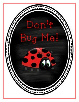 Don't Bug Me Test Privacy Folder Cover