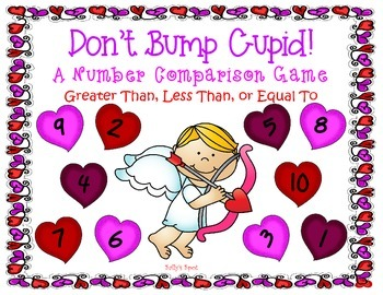 Don't Bump Cupid! A Greater Than, Less Than, or Equal To Game
