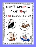 Don't CraSH Your SHip!  SH Digraphs Game!