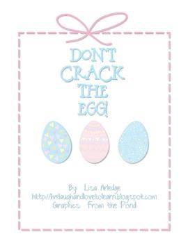 Don't Crack the Egg--Basic Addition Game