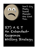 Don't Cry Pluto, Dwarf Planets Are Cool Too-Extended Response Writing