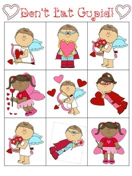 Don't EAT Cupid! (A Fun-Filled February/Valentine Game/Activity)