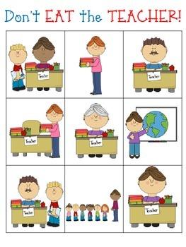 Don't EAT the TEACHER!