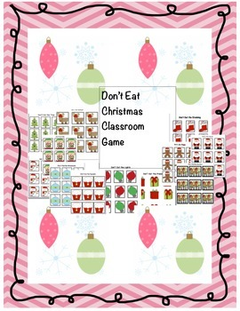 Don't Eat Christmas Classroom Game