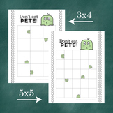 Don't Eat Pete!: Blank Board Game