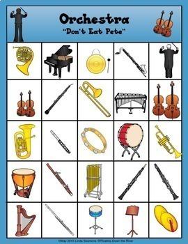Don't Eat Pete Orchestra Instruments Version