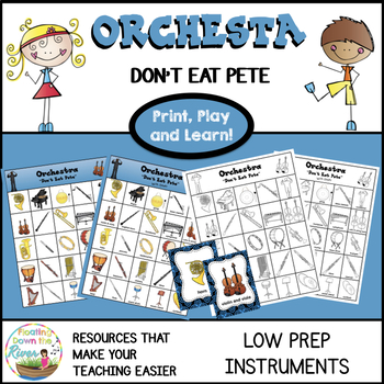 Don't Eat Pete Orchestra Instruments Version