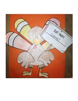 Don't Eat Turkey Craftivity