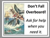 Don't Fall Overboard -  Poster