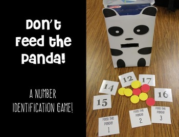 Don't Feed the Panda! - A 1-30 Number Identification Math