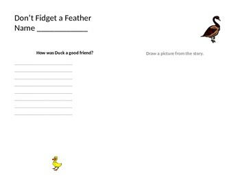 Don't Fidget a Feather
