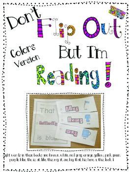 "Don't Flip Out But I'm Reading-""Colors"" Version"