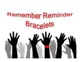 Remember Reminder Bracelets