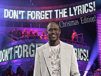 Don't Forget the Lyrics - Christmas Carol Edition